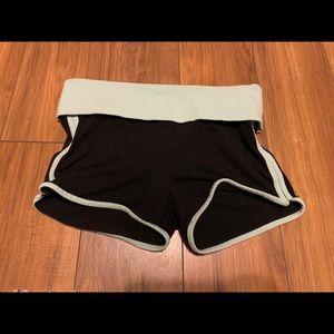 PINK Yoga short shorts